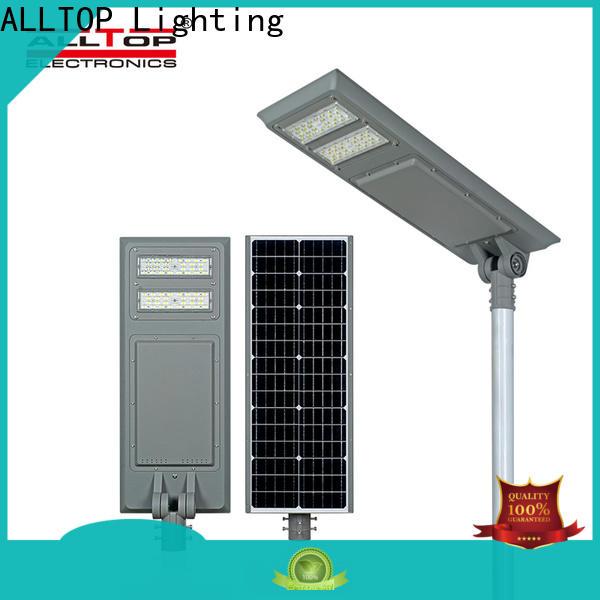 ALLTOP municipal solar street lights best quality manufacturer
