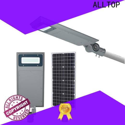 ALLTOP municipal solar street lights high-end supplier