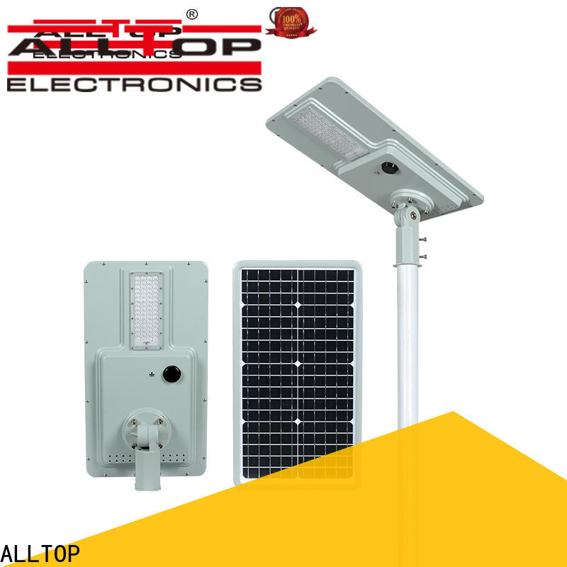 ALLTOP street lamp solar panel high-end wholesale