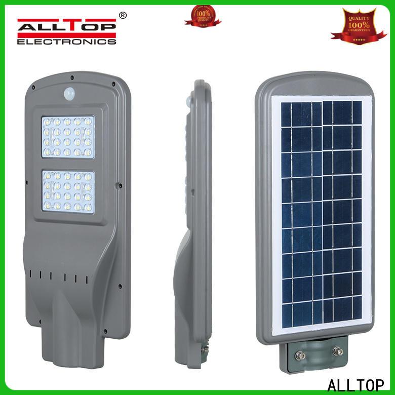 ALLTOP street lights solar powered high-end manufacturer