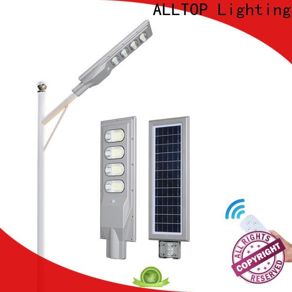 ALLTOP solar sensor street light best quality wholesale