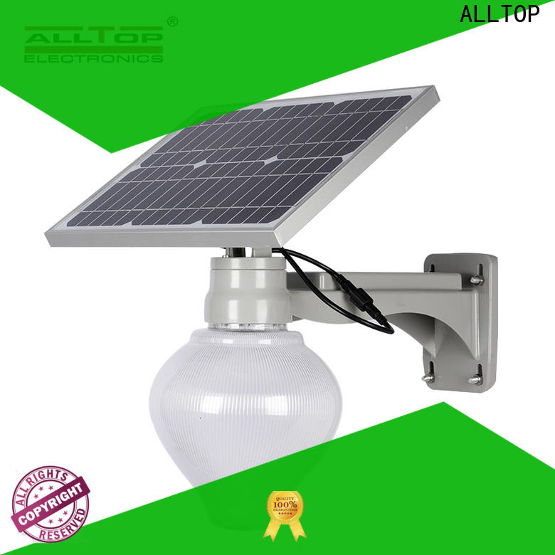 ALLTOP 9w solar street light series for lamp