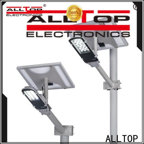 ALLTOP 30w solar street light factory for playground