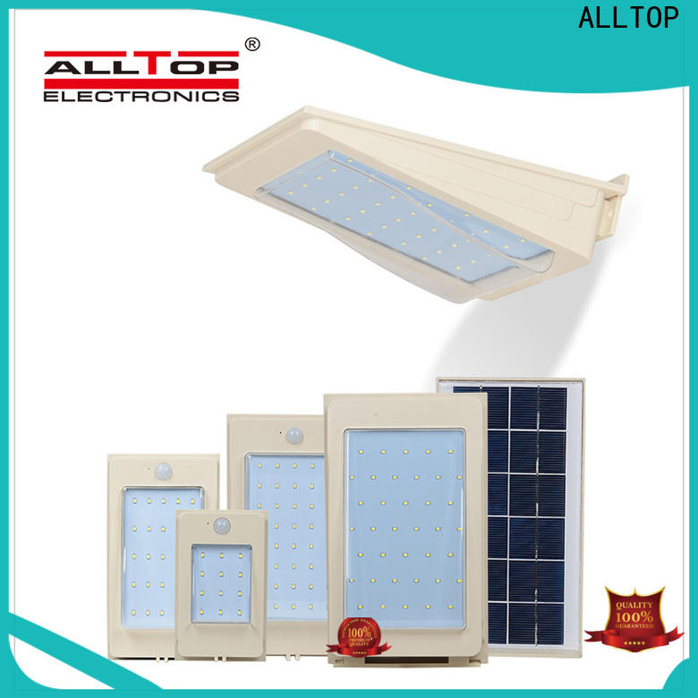 stainless steel external solar wall lights with good price for camping