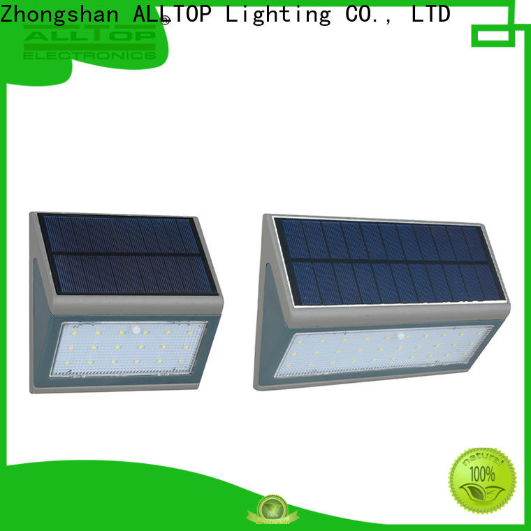ALLTOP energy-saving solar outside wall lights with good price for camping