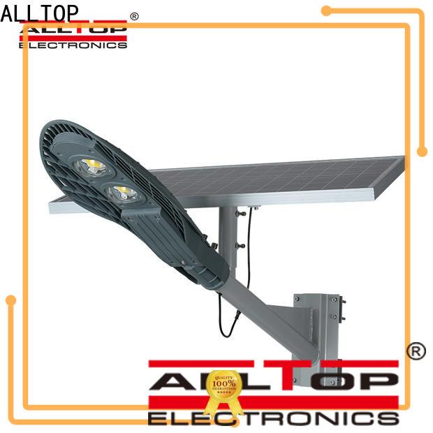 ALLTOP waterproof solar road lamp directly sale for outdoor yard
