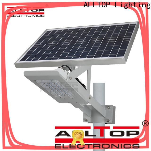 ALLTOP energy-saving 20w solar street light wholesale for landscape