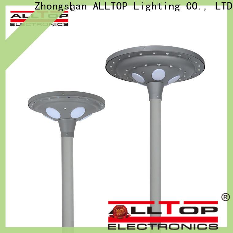 ALLTOP integrated solar garden lamp post lights manufacturers for decoration