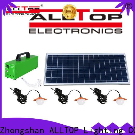 ALLTOP solar system for home manufacturer indoor lighting
