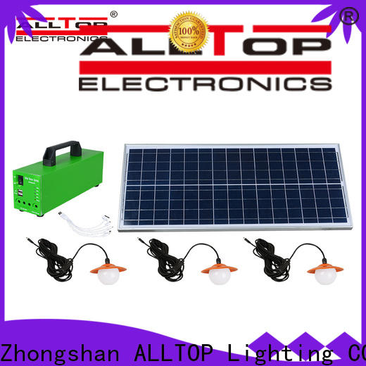 ALLTOP solar system for home manufacturer indoor lighting