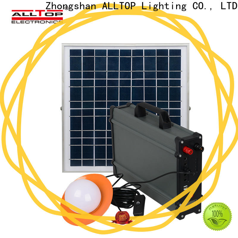 ALLTOP solar system for home directly sale indoor lighting