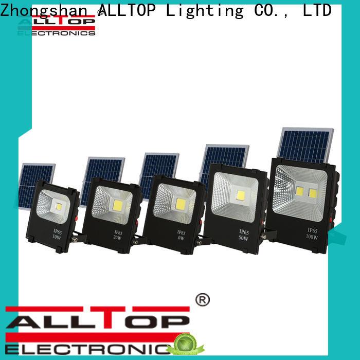 ALLTOP portable solar sensor flood lights factory for spotlight