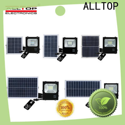 ALLTOP rechargeable best solar floodlight manufacturers for spotlight