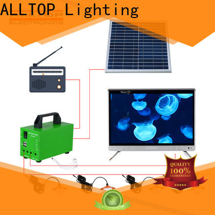abs off-grid solar lighting system supplier for camping