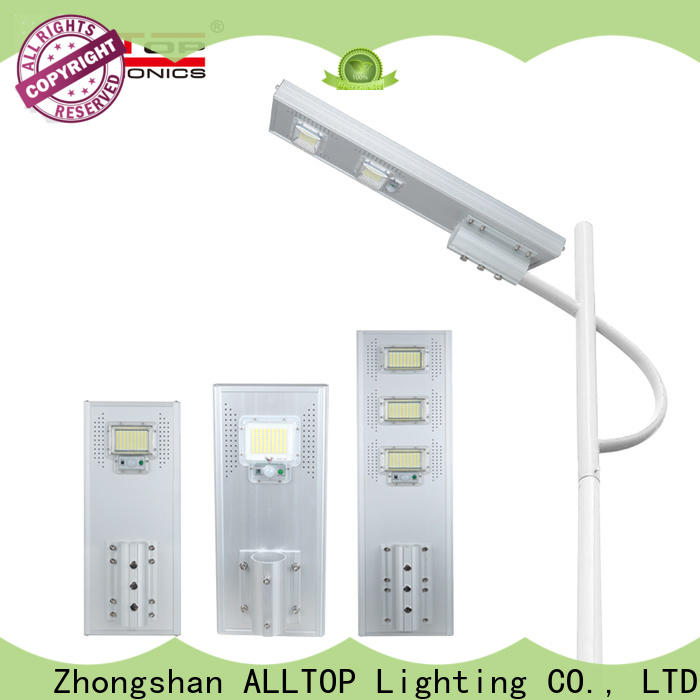 outdoor solar led street light with pole factory direct supply for garden