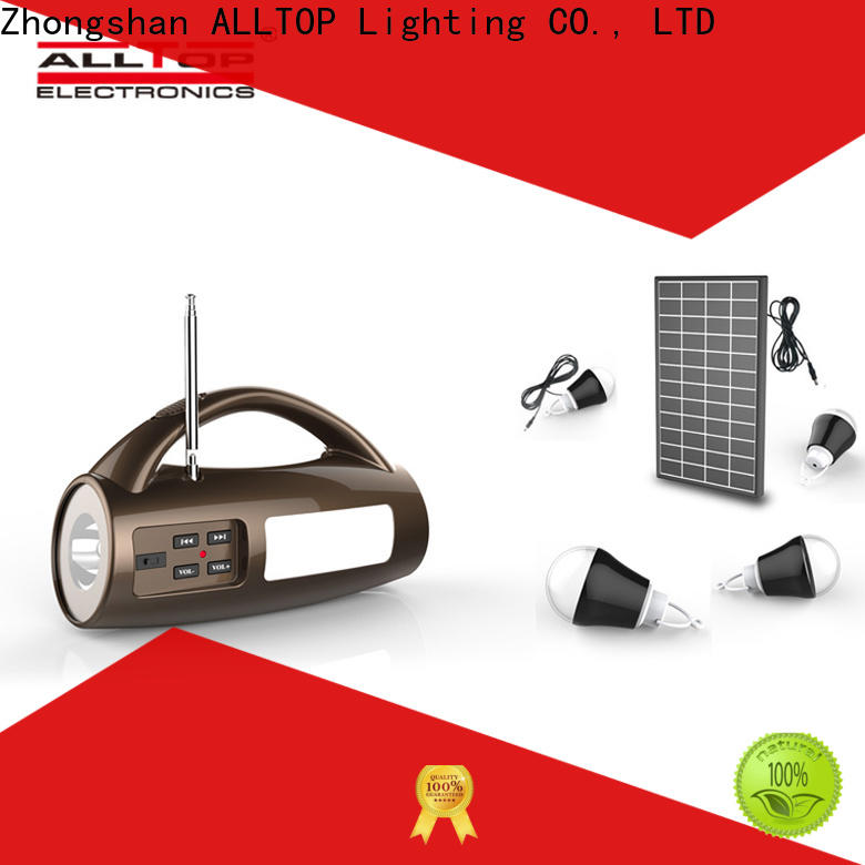 ALLTOP off-grid solar system with good price for outdoor lighting