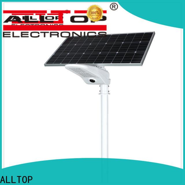 ALLTOP solar led street light factory for landscape