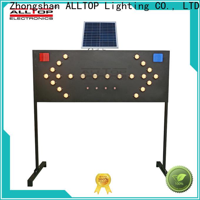 ALLTOP solar traffic warning light wholesale for safety warning