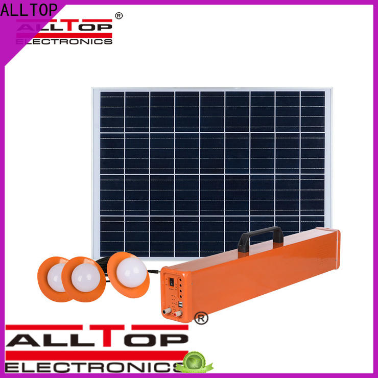 ALLTOP solar panel lightning protection system series indoor lighting