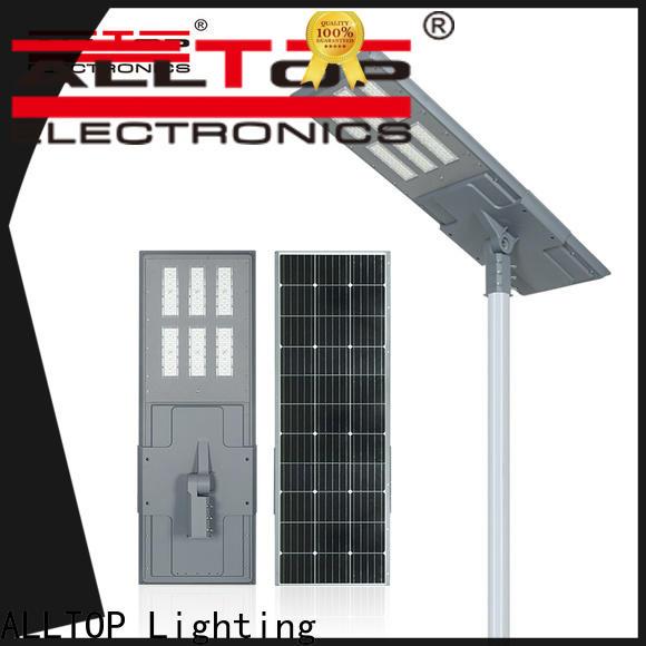 ALLTOP solar pole lamps supplier for highway