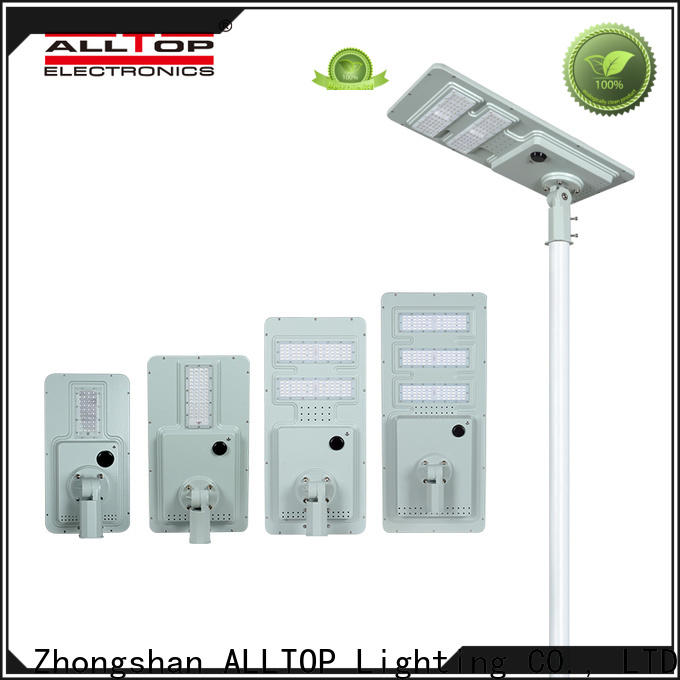 ALLTOP high-quality solar pole lamps with good price for garden