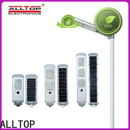 ALLTOP solar panel street light manufacturer for road
