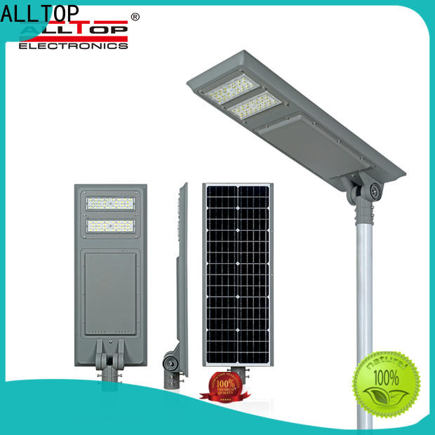 ALLTOP energy-saving solar pole lamps factory direct supply for highway
