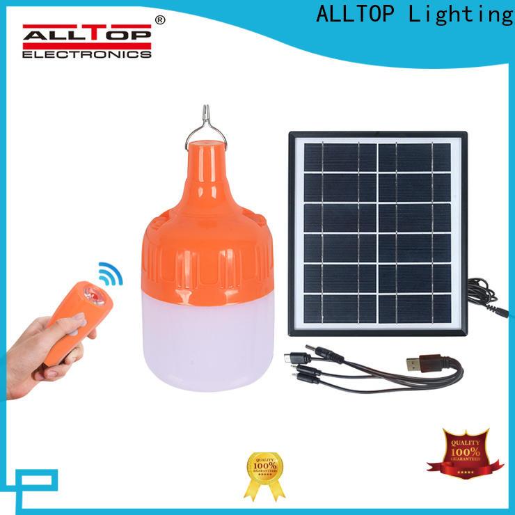 ALLTOP fence mounted solar lights directly sale for street lighting