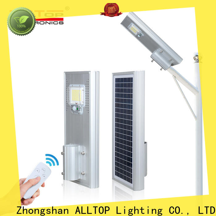 ALLTOP high-quality commercial solar street lights functional wholesale