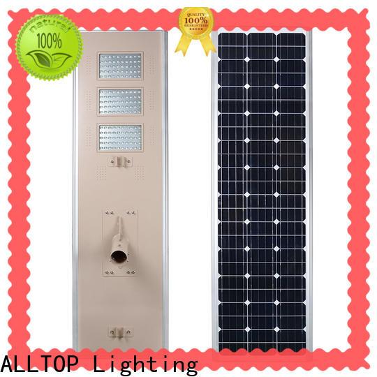 ALLTOP best solar powered street lights functional manufacturer