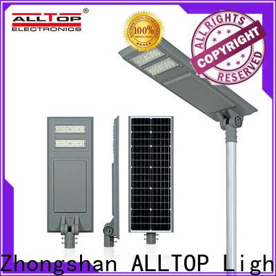 ALLTOP solar power street lighting functional manufacturer