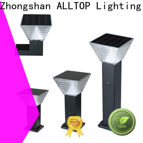 ALLTOP solar led lamp post light