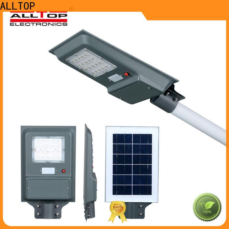 ALLTOP solar panel street lights best quality wholesale