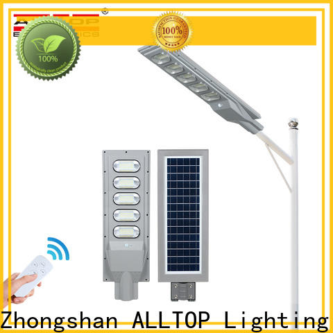 ALLTOP solar led parking lot lights best quality wholesale