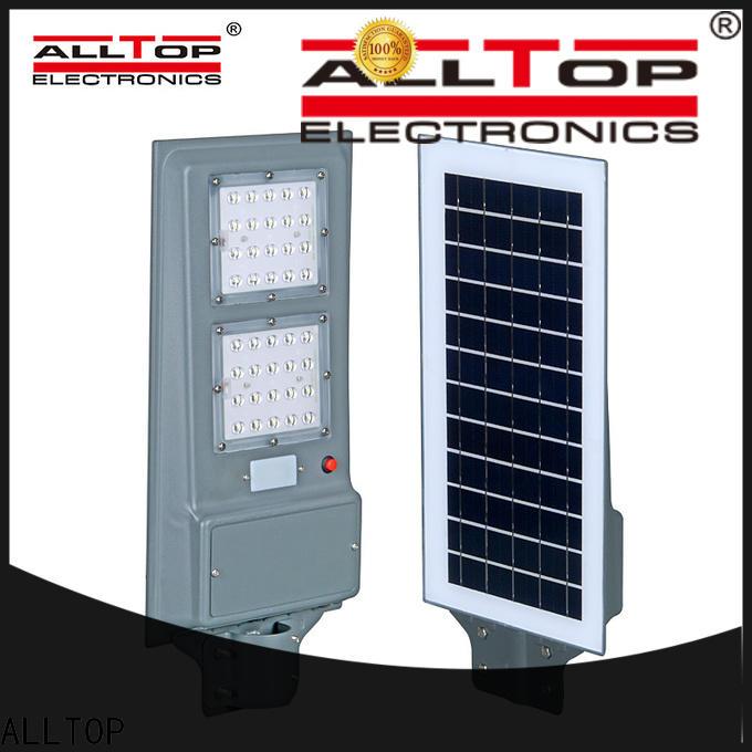 ALLTOP solar parking lot lights functional supplier