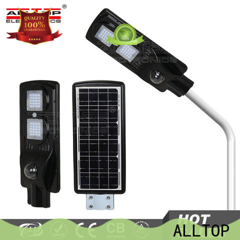 ALLTOP municipal solar street lights best quality supplier