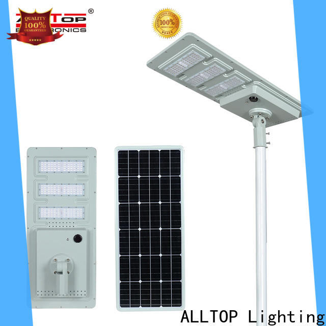 ALLTOP high-quality street solar led lights functional supplier