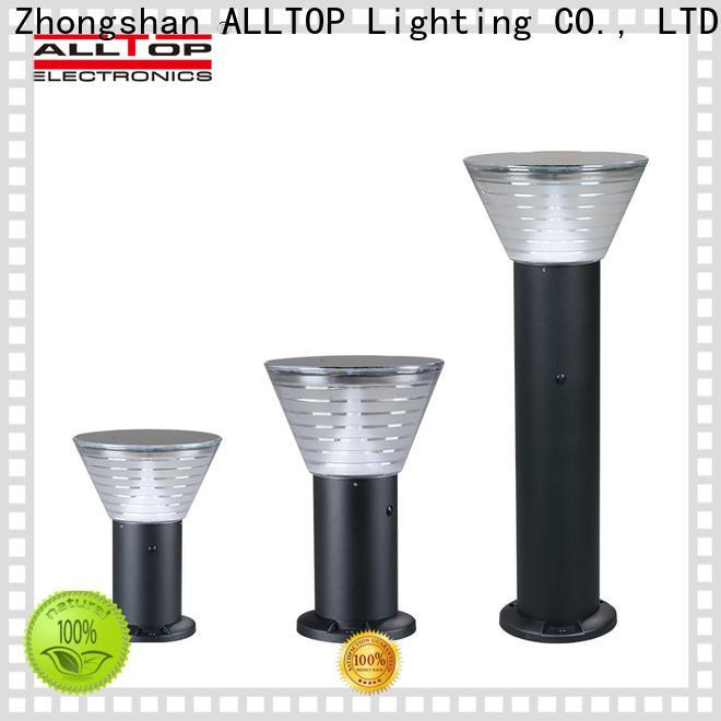 ALLTOP solar pillar lights