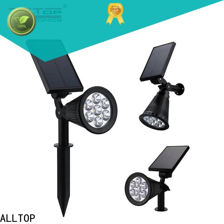 garden bright solar lamp post