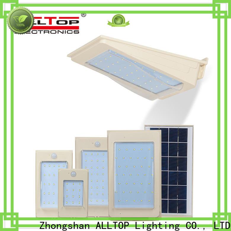 ALLTOP led solar wall lamp wholesale for garden