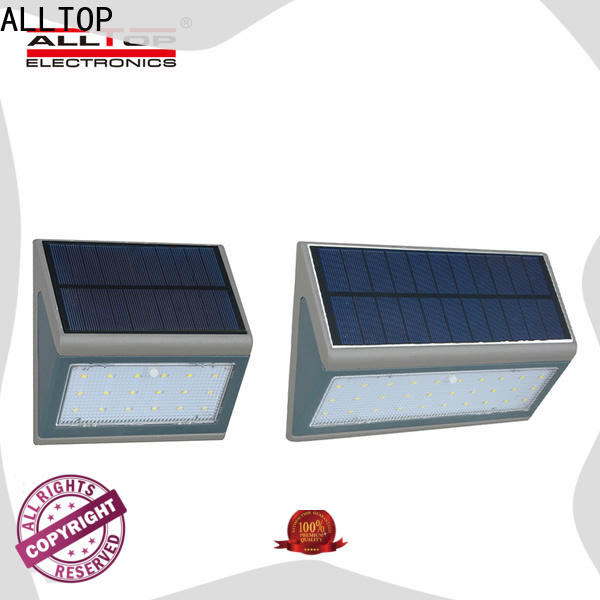 ALLTOP high quality solar powered wall mounted lights directly sale highway lighting