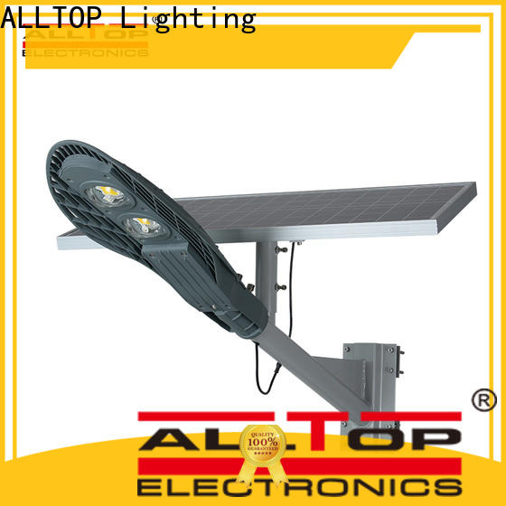 ALLTOP 20w solar street light directly sale for outdoor yard
