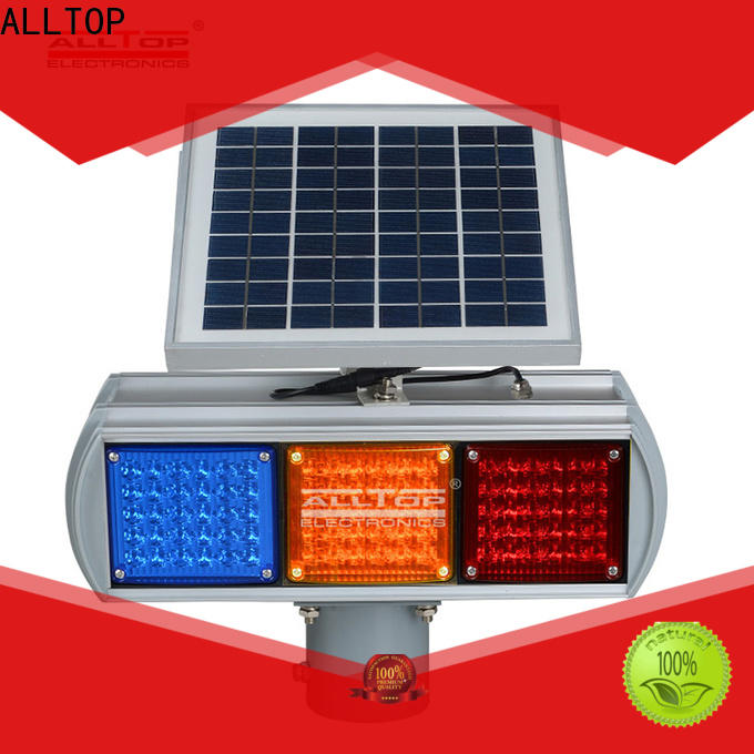 ALLTOP low price traffic barricade flashing light wholesale for factory