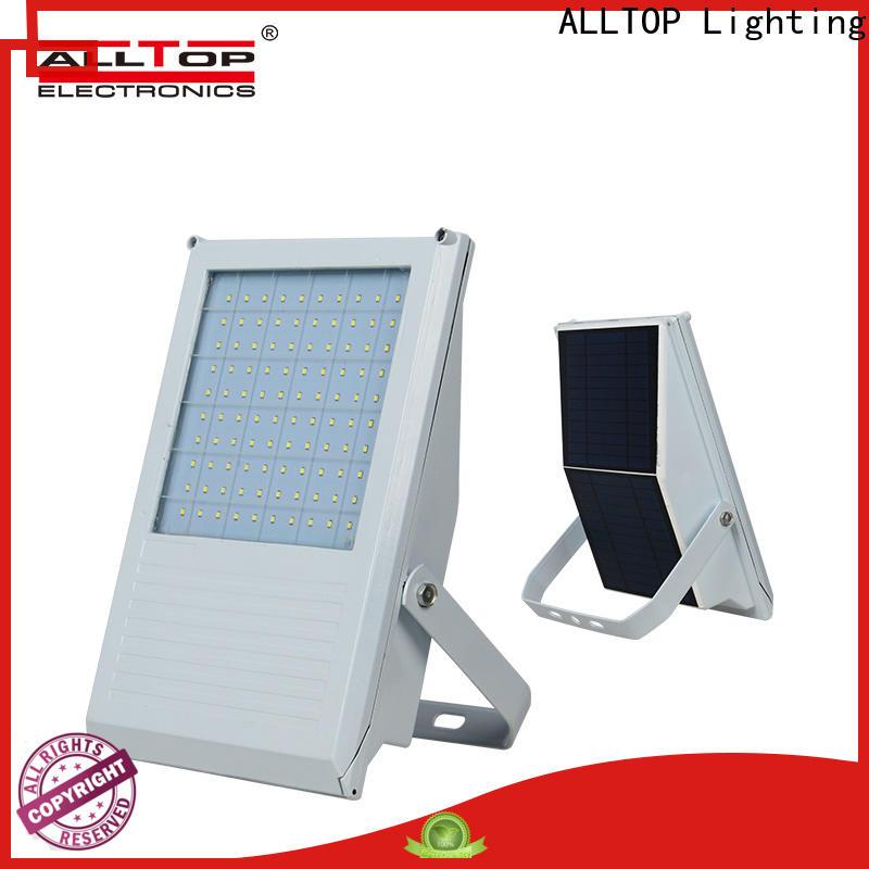 square solar floodlights supply for stadium