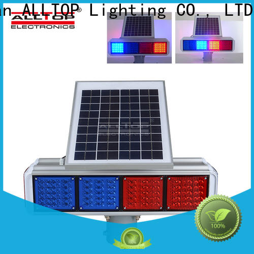 ALLTOP solar traffic light system directly sale for safety warning