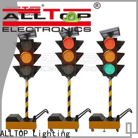 ALLTOP low price street signal lights supplier for police