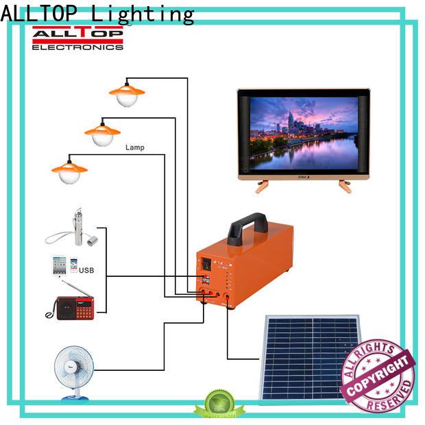 ALLTOP solar dc lighting system directly sale indoor lighting
