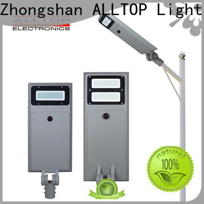 ALLTOP solar parking lot lights factory direct supply for garden