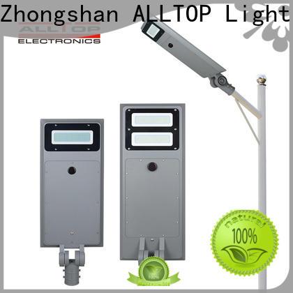 ALLTOP solar parking lot lights factory direct supply for garden