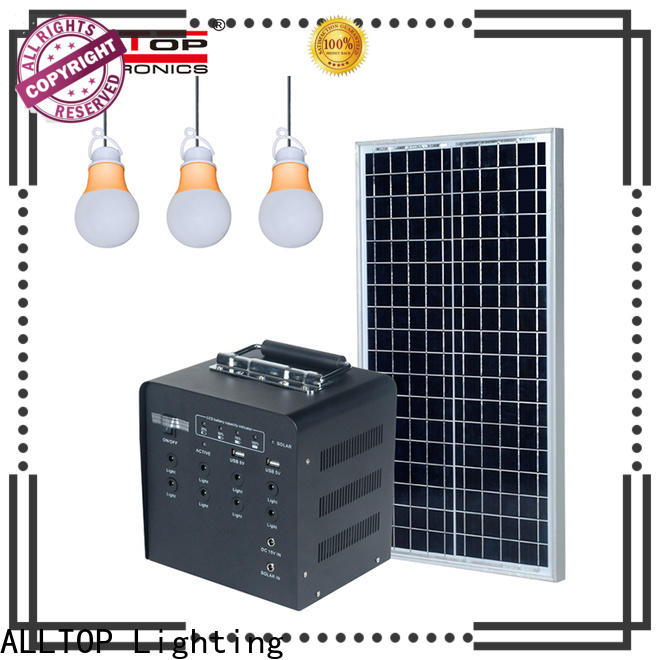 multi-functional solar dc home lighting system with good price for camping